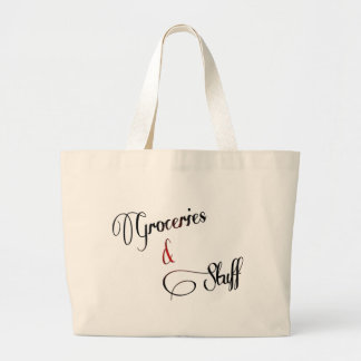 groceries and stuff  tote design discount handbag