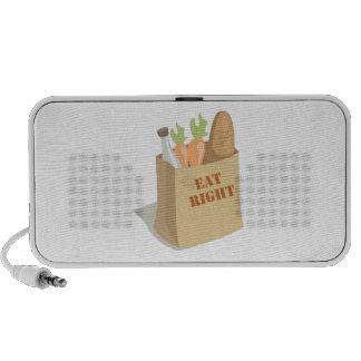 Groceries_Eat_Right Notebook Speakers