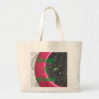 Grocery Bag  Keep it green