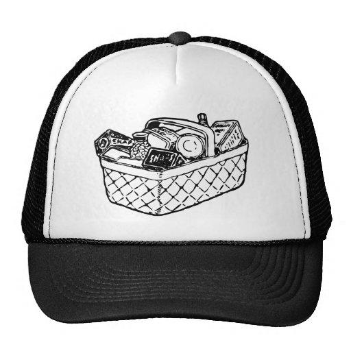 Grocery Basket Hat