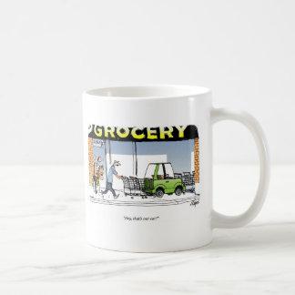 Grocery Cart Coffee Mug