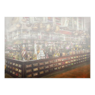 Grocery - Edward Neumann - The groceries 1905 Card