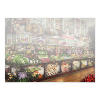 Grocery - Edward Neumann The produce section 1905 Card