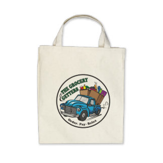 Grocery Getters Organic Grocery Tote Tote Bags