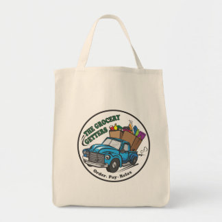 Grocery Getters Organic Grocery Tote Grocery Tote Bag