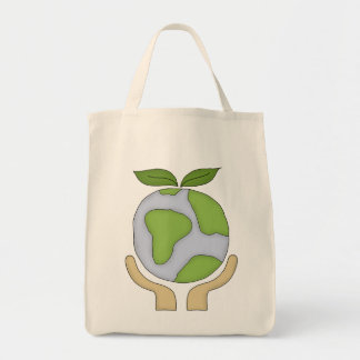 Grocery Shopping Tote-Go Green Environment Tote Bag