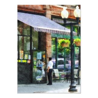 Grocery Store Albany NY 13 Cm X 18 Cm Invitation Card
