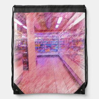 grocery store rucksack