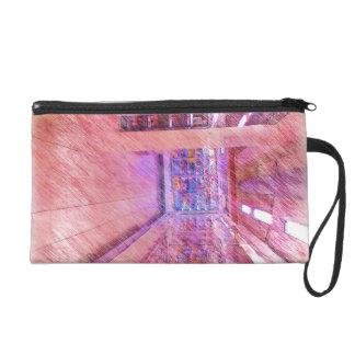 grocery store wristlet purse