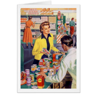 Grocery Store Frustrations, Card