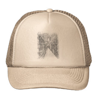 grocery store mesh hats