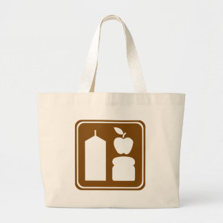 Grocery Store Highway Sign Bag
