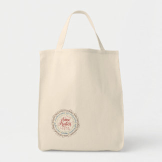 Grocery Tote Bag Jane Austen Period Dramas