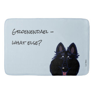 Groenendael Head - does else what? Bath Mat