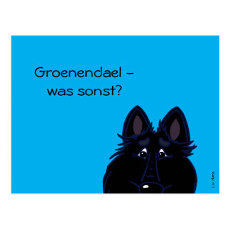 Groenendael - which otherwise? postcard