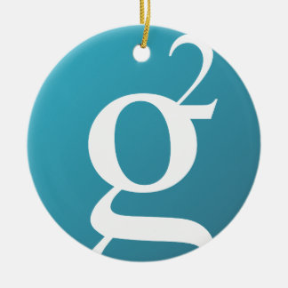 Groestlcoin Circle Hanging Ornament