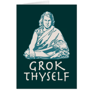 Grok Yourself Card