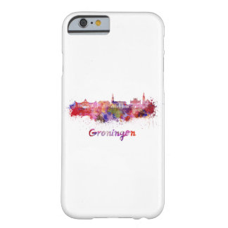 Groningen skyline in watercolor barely there iPhone 6 case