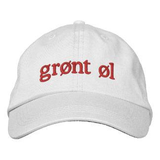 Grønt øl embroidered hat