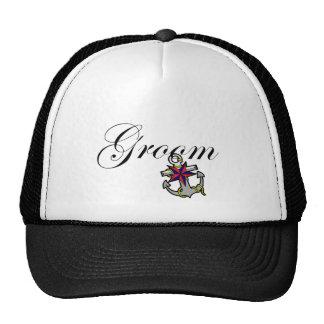 Groom Anchor Trucker Hat