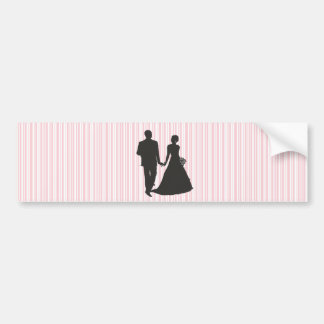 Groom and Bride designs Bumper Sticker