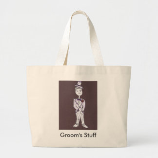 Groom/Bachelor Party Jumbo Tote Bag