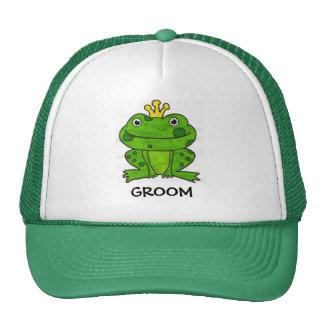 GROOM TRUCKER HATS