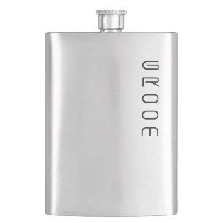 Groom Customizable Wedding Party Flask