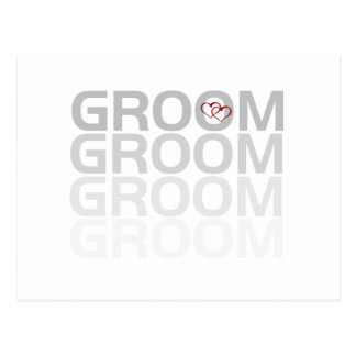 Groom Fade Tshirts and Gifts Postcard