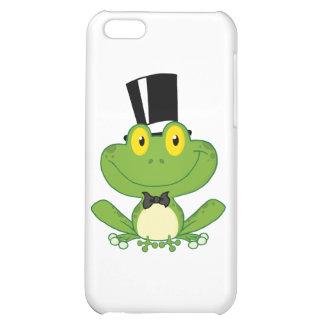 Groom Frog Cartoon Character iPhone 5C Cases