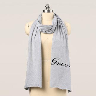 Groom Jersey Knit Scarf