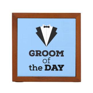 Groom of the Day Ziwph Desk Organiser