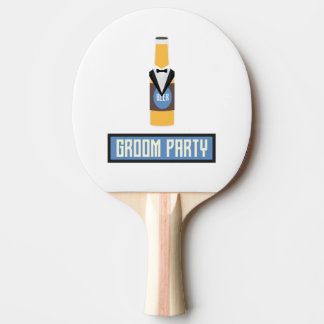 Groom Party Beer Bottle Z77yx Ping Pong Paddle