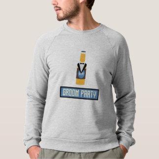 Groom Party Beer Bottle Z77yx Sweatshirt