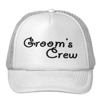 """Groom""""s Crew Cap"""