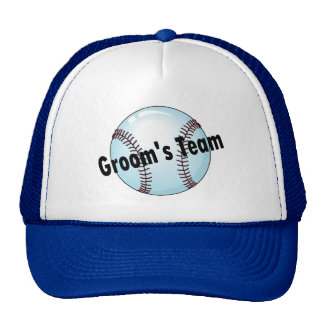 Groom s Team Hats