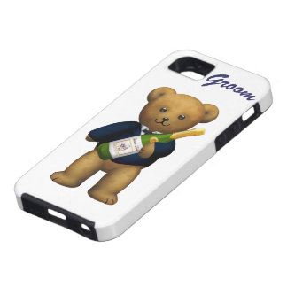 Groom Teddy Bear iPhone 5 Case
