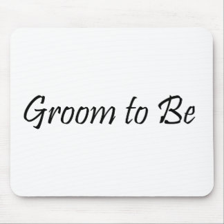 Groom to Be Mouse Pad