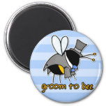 groom to bee magnets