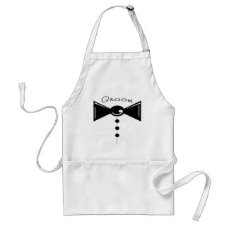 Groom Tux T-Shirts & Gifts Aprons