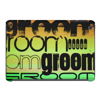 Groom; Vibrant Green, Orange, & Yellow iPad Mini Cases