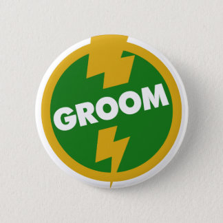 Groom Wedding - Dupree 6 Cm Round Badge