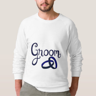 Groom Wedding Favors Sweatshirt