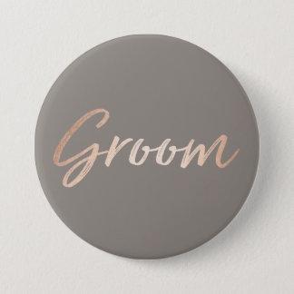 Groom Wedding Rehearsal 7.5 Cm Round Badge