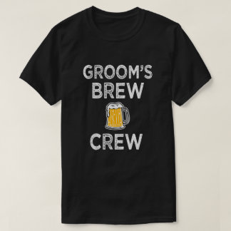 Groom's Brew Crew Men's Groomsman Party Shirt