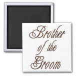 Groom's Brother Classy Browns Magnets
