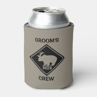 Groom's Crew Bachelor Party Favors Can Cooler