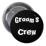 Grooms Crew Buttons