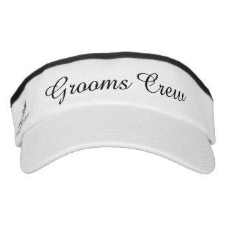 Grooms Crew Visor