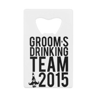 Groom's drinking team 2015